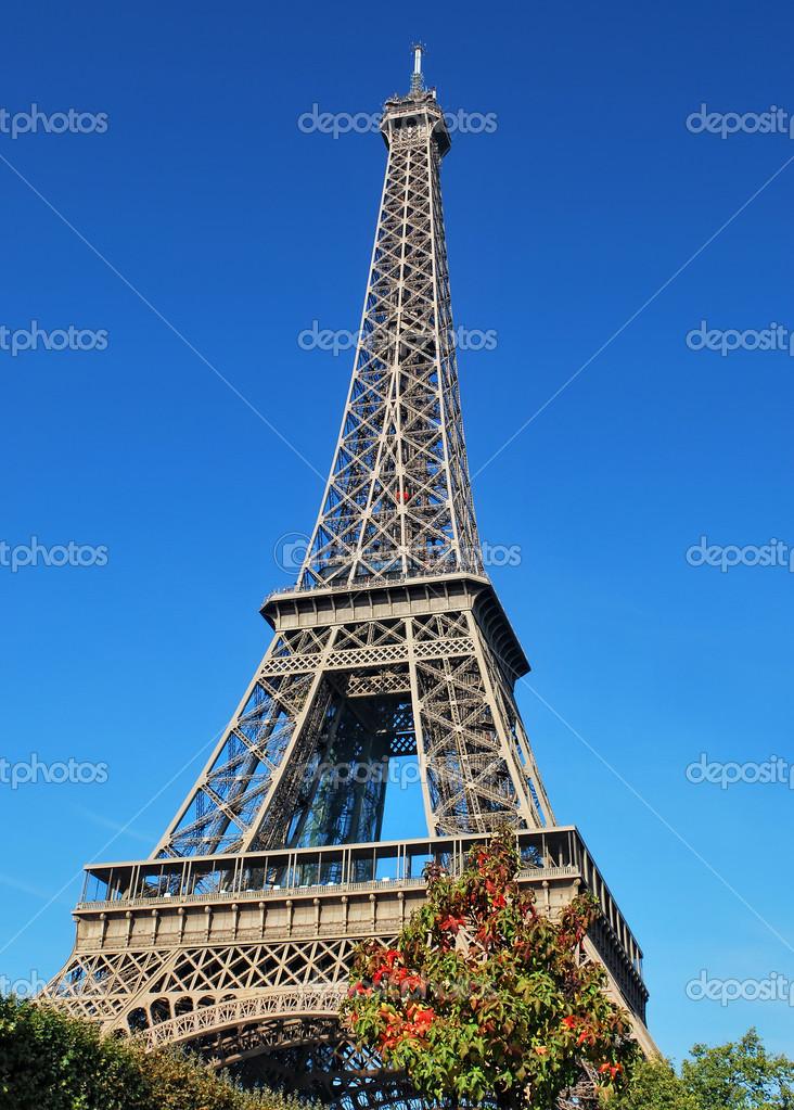 巴黎-埃菲尔铁塔 — 图库照片08wdgphoto#13408494