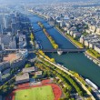 Aerial view of Paris — Stock Photo #13411107