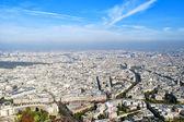 Panoramic view of the Paris — Stock Photo