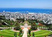 Jardines de bahai en haifa israel — Foto de Stock