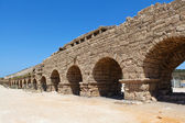 Aqueduct in the Holy Land — Stock Photo
