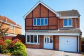 典型的な英語の住宅不動産 — ストック写真