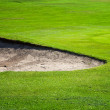 Stock Photo: Golf field