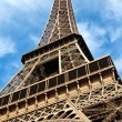 The Eiffel tower in Paris France - Stock Photo