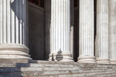 The row of classical columns — Stock Photo