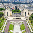 Paris from the Eiffel Tower — Stock Photo #13851372