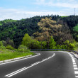 Curve road — Stockfoto