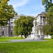 Burggarten park in Vienna — Stock Photo