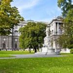 Burggarten park in Vienna — Stock Photo