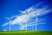 Wind farm — Stockfoto