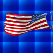 Flag of the United States — Stockfoto