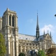 Cathedral of Notre Dame de Paris - 图库照片