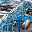 Stock Photo: Gas processing plant