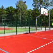 Basketball court — Stock Photo