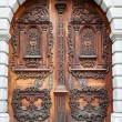 Old wooden door — Stock Photo #15729391