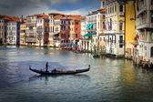 Gran canal venecia — Foto de Stock