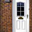 English front door — Stock Photo