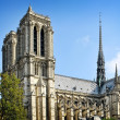 Stock Photo: Cathedral of Notre Dame