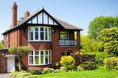 Anglický dům — Stock fotografie