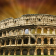 The Colosseum in Imperial Rome — Stock Photo