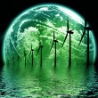 Stock Photo: Green Earth concept