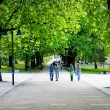 Stock Photo: Green spring park