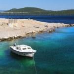 Costa de Croacia del mar Adriático — Foto de Stock