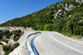 Adriatic road — Stock Photo