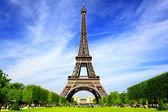 巴黎最佳旅游目的地在欧洲 — 图库照片