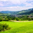 Mountain spring landscape - Stockfoto