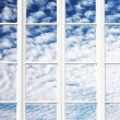 Stock Photo: Sky windows