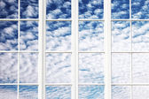 Sky windows — Stock Photo