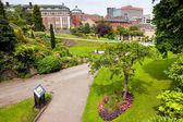 Spring park in Nottingham — Stock Photo