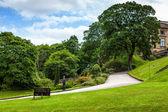 Nottingham kasteelpark — Stockfoto