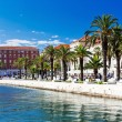 Split in Dalmatia - Stock Photo