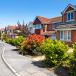 Typical English Street — Stockfoto