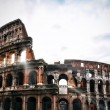 Stock Photo: Colosseum FlaviAmphitheatre