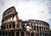 Colosseum Flavian Amphitheatre — Stock Photo