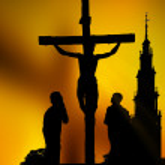 Calvary crucifixion — Stock Photo