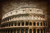 Starożytne rzymskie koloseum — Zdjęcie stockowe