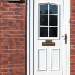 Traditional front doors - Stock Photo
