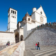 Basilica of San Francesco of Assisi - ストック写真