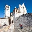Basilica of San Francesco of Assisi - Foto Stock