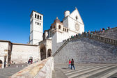 Basilica of San Francesco of Assisi — Stock Photo