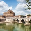 Stock Photo: castel sant angelo in rome