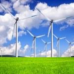 Global wind energy — Stock Photo #22556789