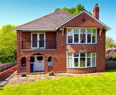 Típica casa de inglês — Foto Stock