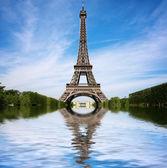 The Eiffel Tower — Stock Photo