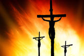 Calvary crucifixion — Stock Photo