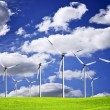 Wind turbines — Stock Photo #23366420